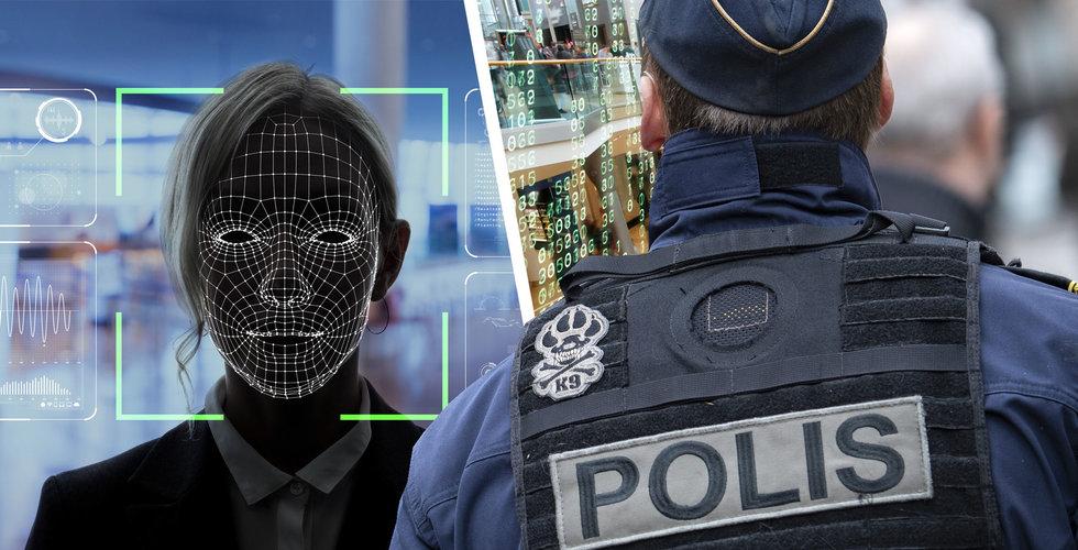 Polisen använde ansiktsigenkänning utan att kontakta Datainspektionen