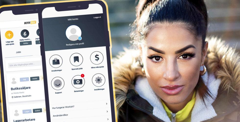 Linda Pira lanserar appen Workish – som får kritik i sociala medier