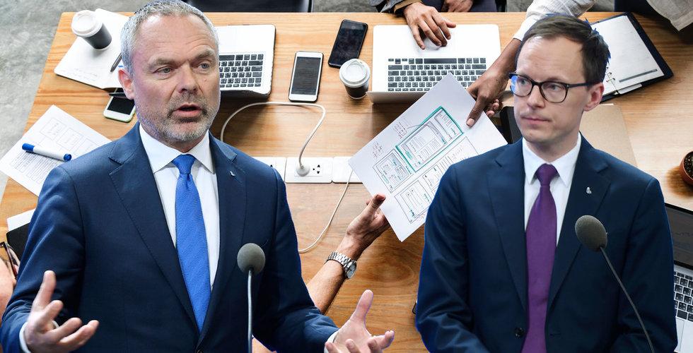 Så vill L och Jan Björklund ragga startups inför valet - med miljardregn