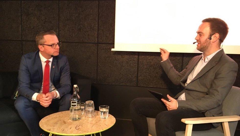 Breakit - Breakit ställer näringsminister Mikael Damberg mot väggen