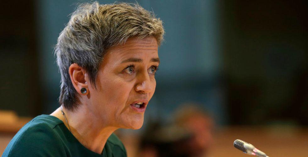 Breakit - EU:s konkurrenskommissionär Margrethe Vestager drar Google inför rätta
