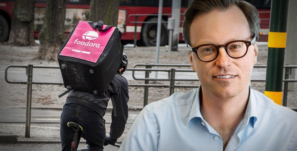 Facket och Foodora överens – nu är kollektivavtal för cykelbuden nära
