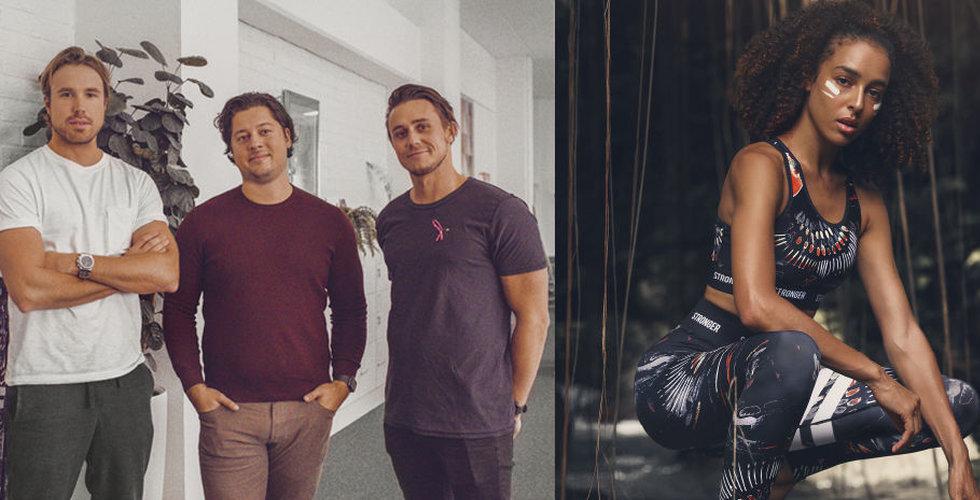 Möttes på stan – nu säljer Stronger kläder för över 100 miljoner kronor
