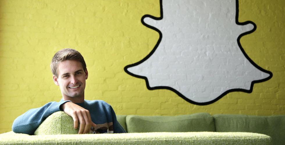 """Snapchats vd svarar på kritiken: """"Det tar tid för folk att vänja sig"""""""