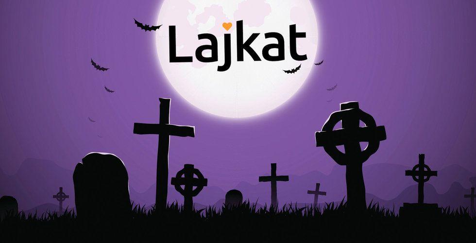 Slutgillat för Lajkat – viralsajten går i graven