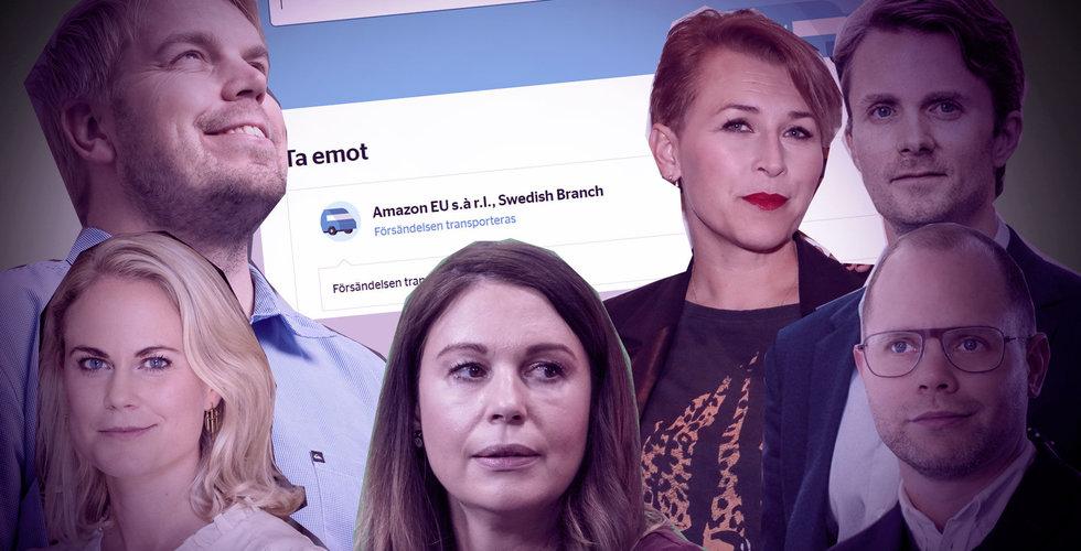 100-miljonersklippet när svenska startupen såldes, Amazon igång i Sverige och ett ursent avhopp