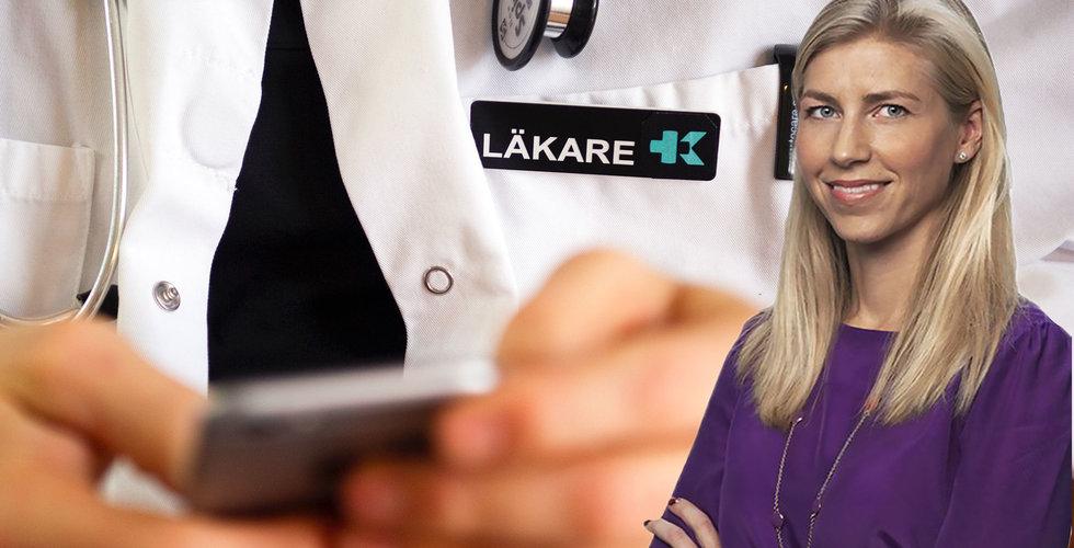 Anna Fredrixon byter telefonbok mot vård – blir ny HR-chef på Kry