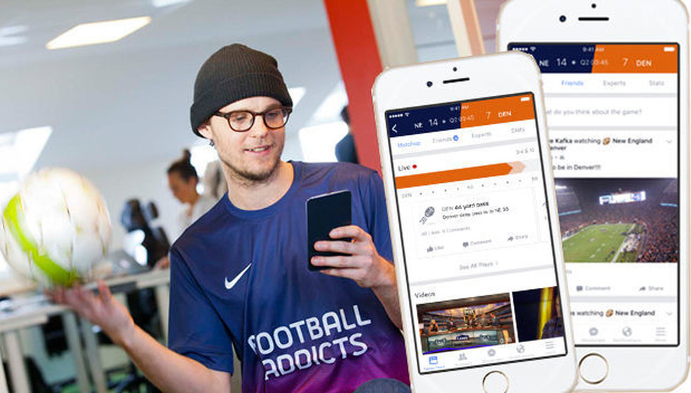 Breakit - Facebooks gåva till sportnördarna kan utmana Football Addicts