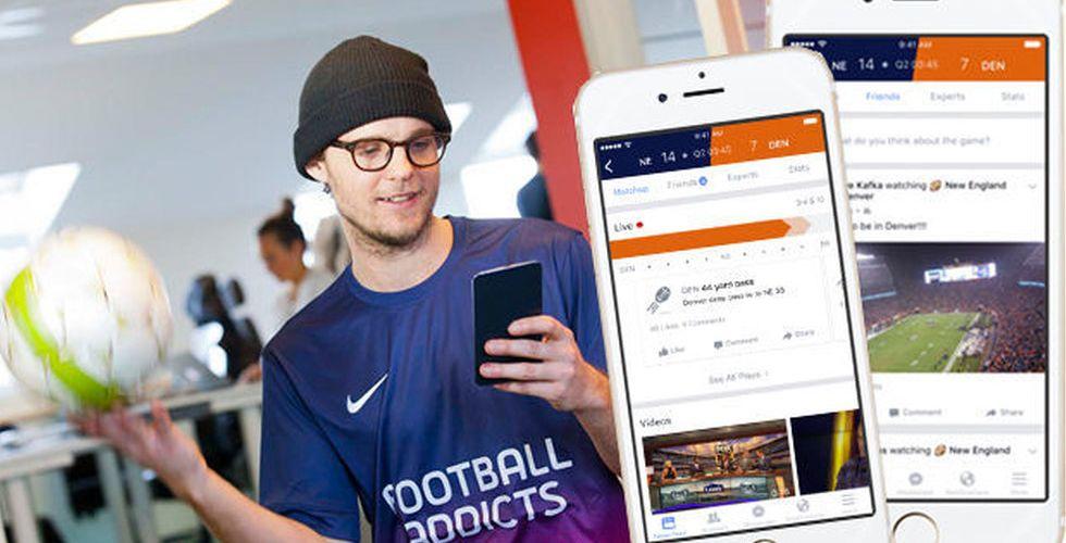 Breakit - Facebooks gåva till sportnördarna kan utmana Football Addicts