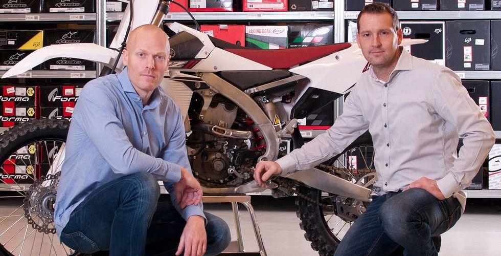 Motocrossbutik på nätet gasar på - omsätter nu 342 miljoner kronor