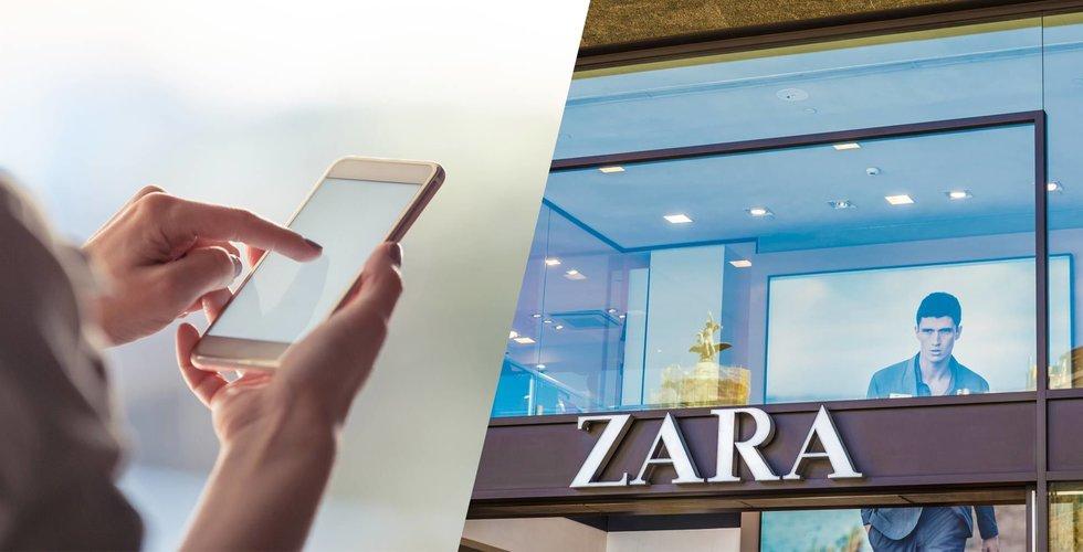 Breakit - H&M-konkurrentens drag – digitala mobil-modeller i butikerna