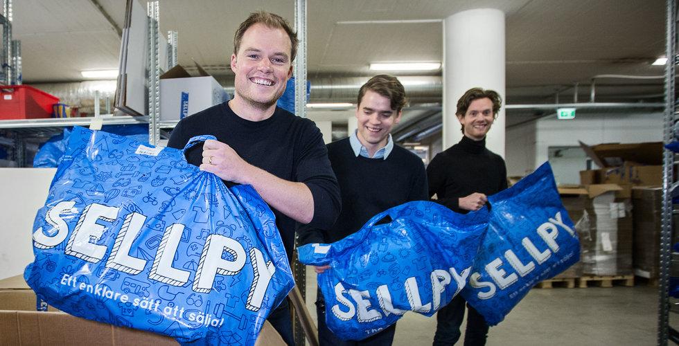 Sellpy vill kränga dina begagnade prylar – tar in 20 miljoner kronor