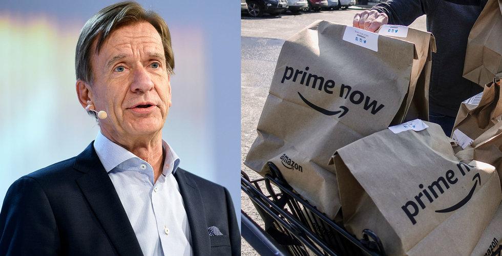 Amazon drar igång leveranstjänst med Volvo och GM