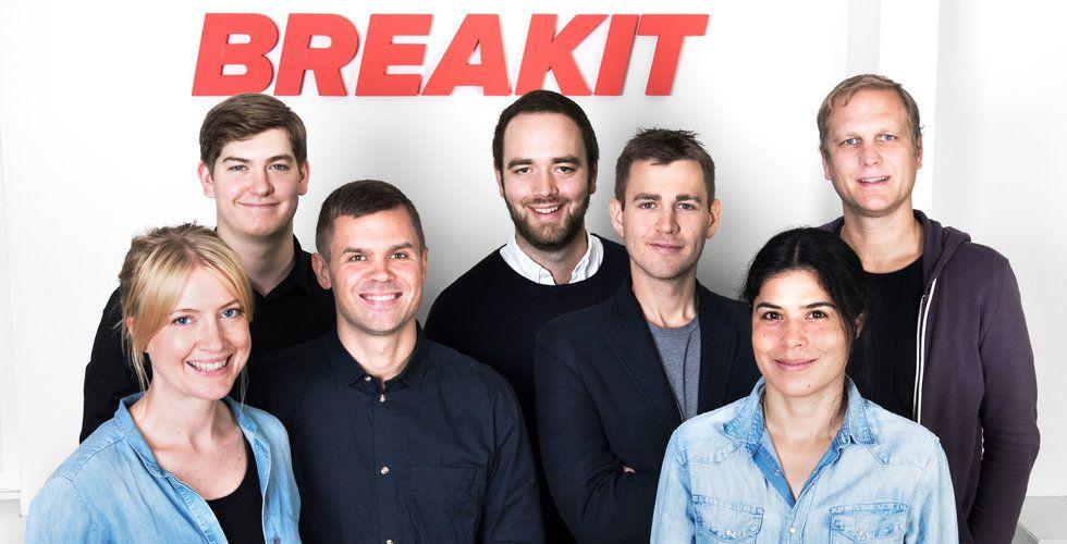 Glada nyheter – nu blir Breakits sajt lite snyggare och smidigare