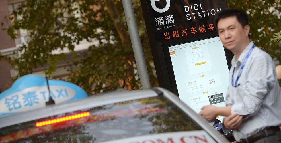 Didi Chuxing investerar en miljard dollar i egna plattformen för biltjänster