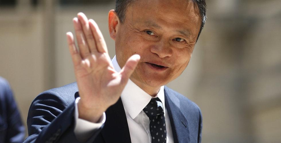Jack Ma lämnar styrelsen i Softbank