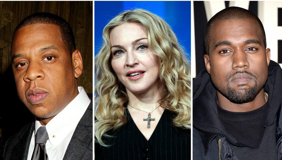 Breakit - Madonna och Kanye West går till Jay Z:s streamingtjänst Tidal - Spotify-användare får vänta
