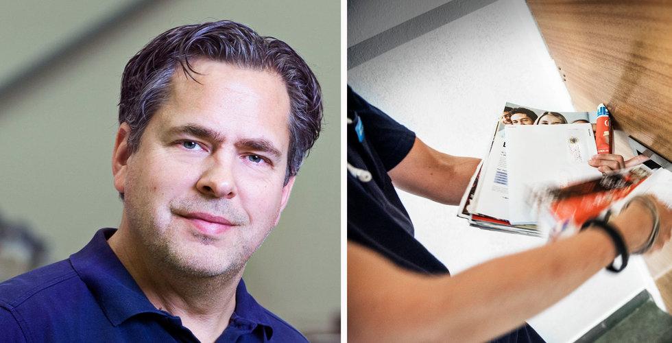 """Apotea-grundaren Pär Svärdson om Postnords plan: """"Förödande"""""""