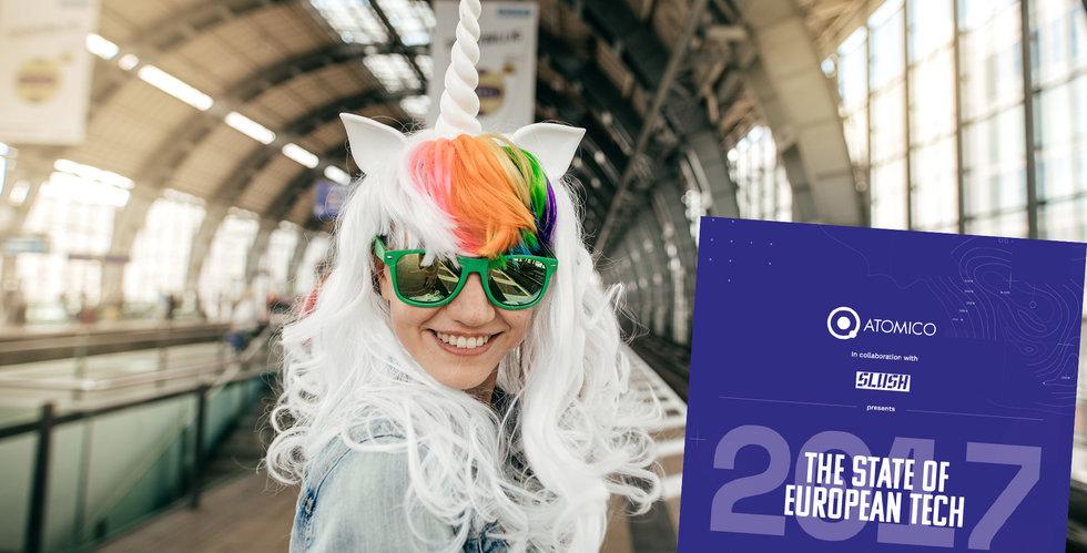 Europa har nu 41 unicorns – så många är från lilla Sverige