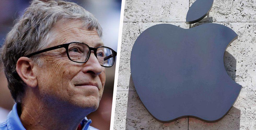 Microsoft och Apple kommer att stå för hälften av techsektorns vinst nästa år