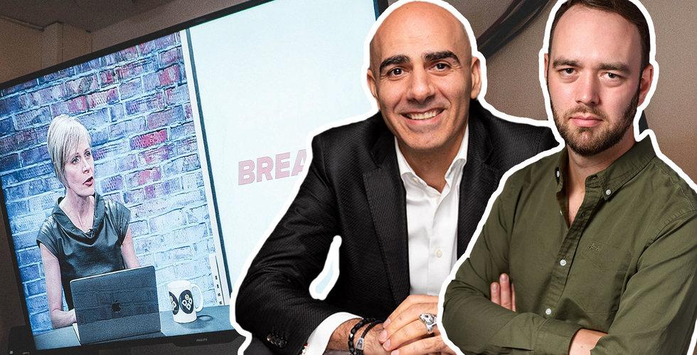 Saeid Esmaeilzadeh ska bygga ett miljardbolag – på bara två år