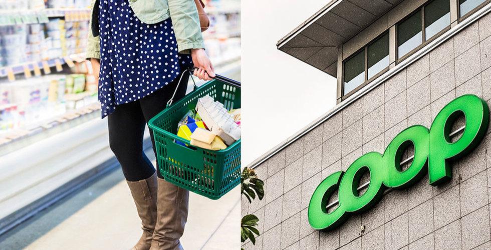 Coop halkar efter i matkriget på nätet – men vägrar att ge upp