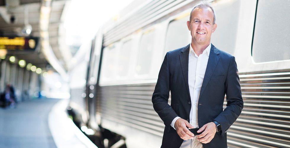 Claes Lindholtz, chef för affärsutveckling och digital transformation på SJ.