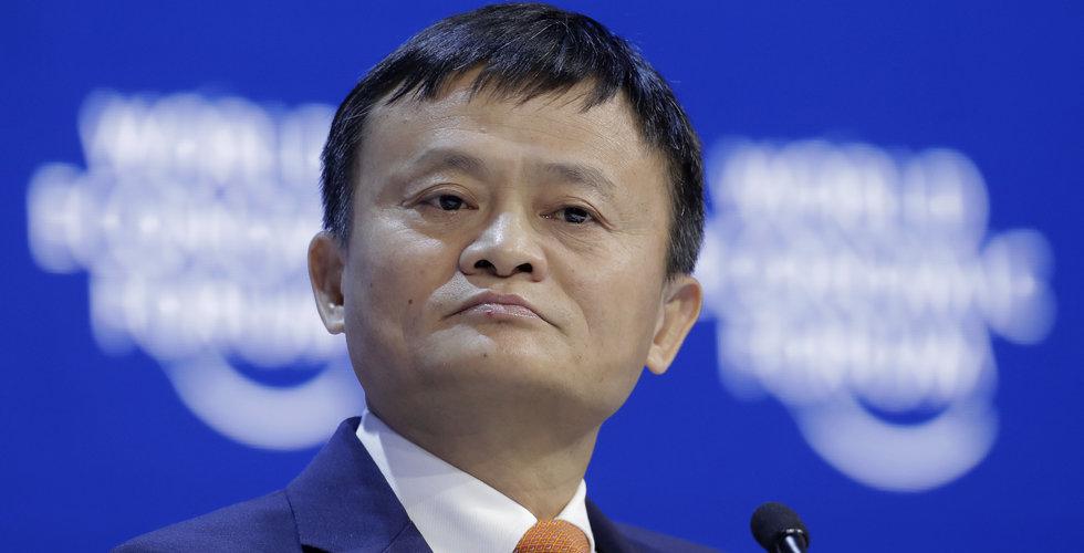 Alibaba justerar ned försäljningsprognos