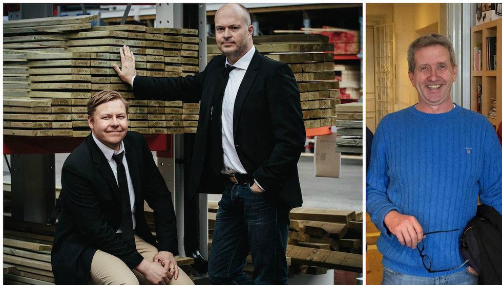 Byggvarulistan tar in ny runda från Almi Invest och Martin Timell