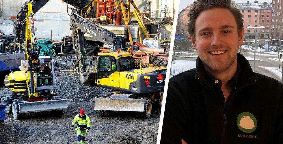 Buildsafe ska säkra byggandet – landar jätteavtal med svenska jätten