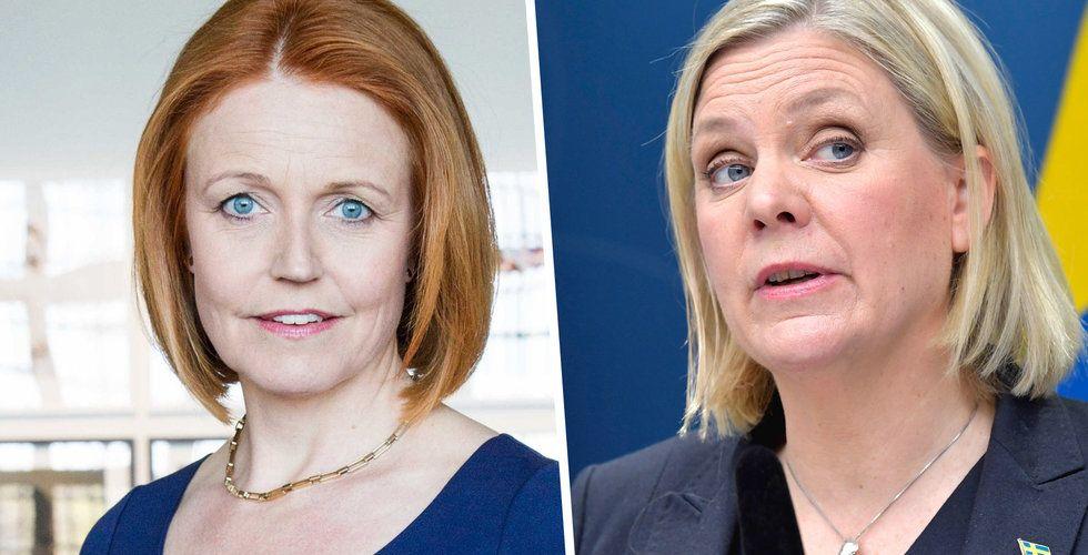 Elisabeth Thand Ringqvist vädjar till politikerna: Glöm inte bort startups