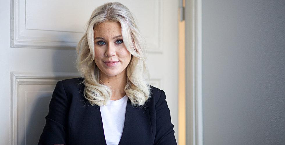 Isabella Löwengrip bryter sig loss – startar internationellt säljbolag