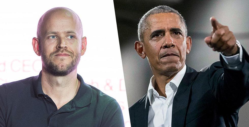 Barack Obama till Stockholm – kommer till Daniel Eks techkonferens