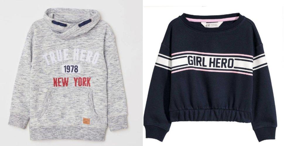 Ny kritik mot barntröja från H&M