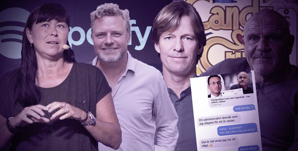 Guldregn över Spotify-topparna, Holstein lämnar landet och Tommy Jacobson biter ihop
