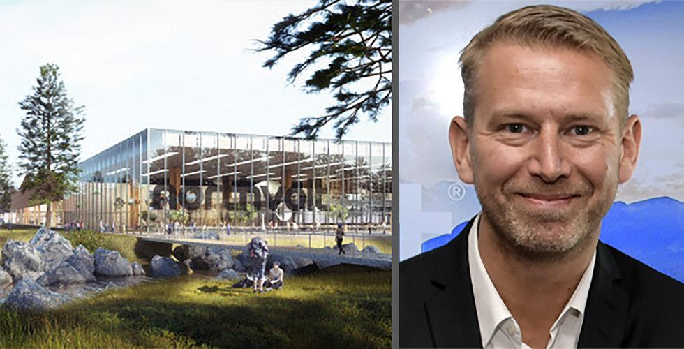 Skellefteå satsar 100 miljoner kronor för att glädja Northvolt