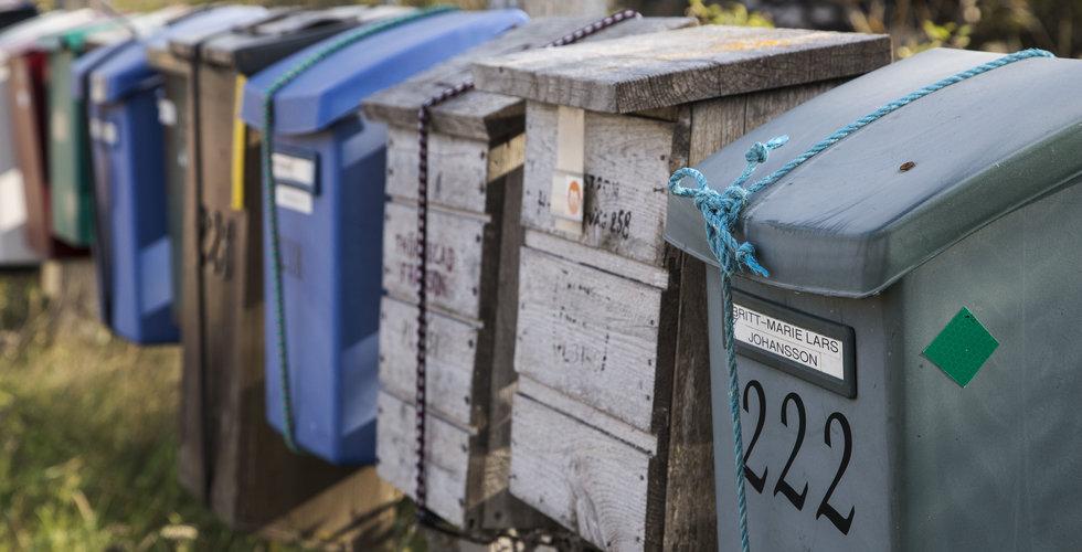 Postnord planerar att minska brevutdelningen – leder till varsel