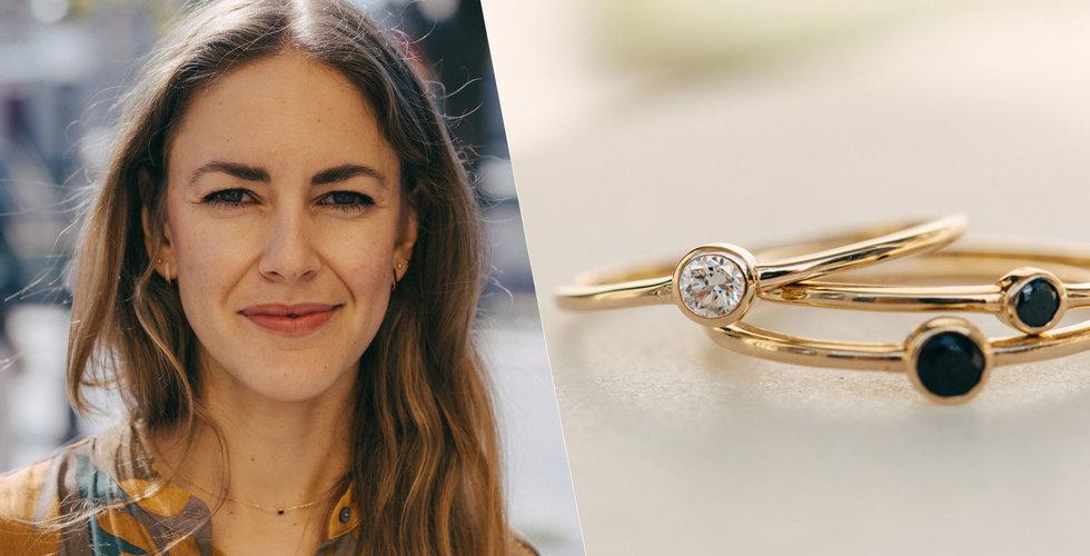 Anna Wallander vill utmana smyckesbranschen med labbodlade diamanter