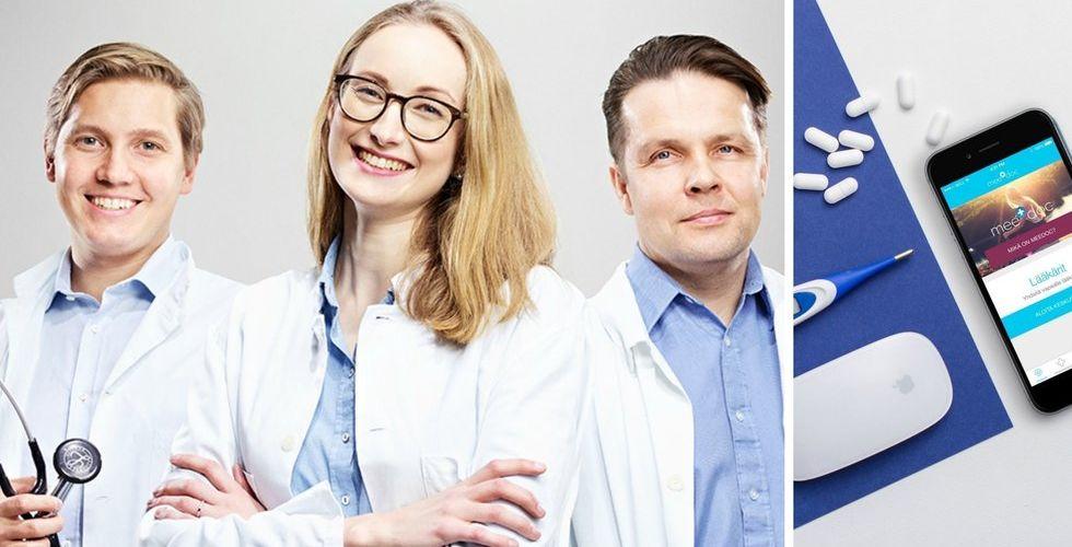 Breakit - Finska läkarappen Meedoc tågar in i Sverige med stor krigskassa