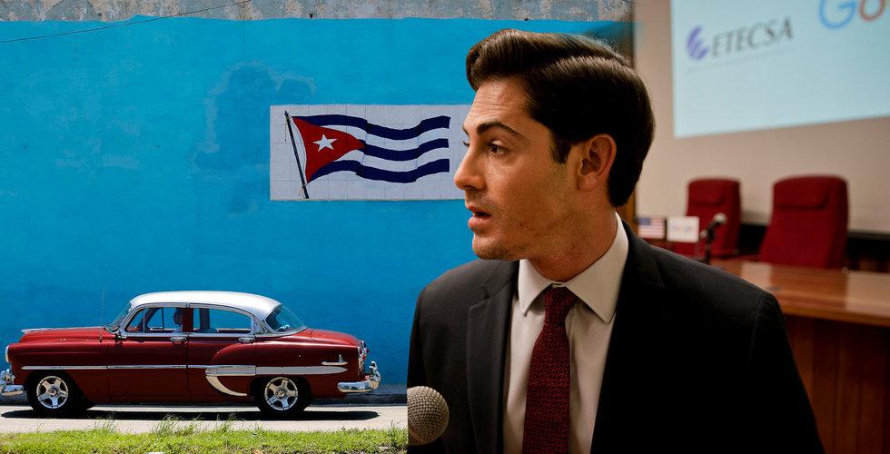 Google ska fixa internet – åt Kuba