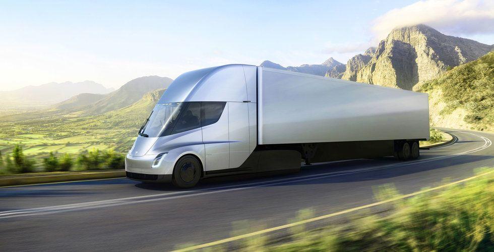 Teslas nya lastbil kräver energi – motsvarande 4.000 bostadshus
