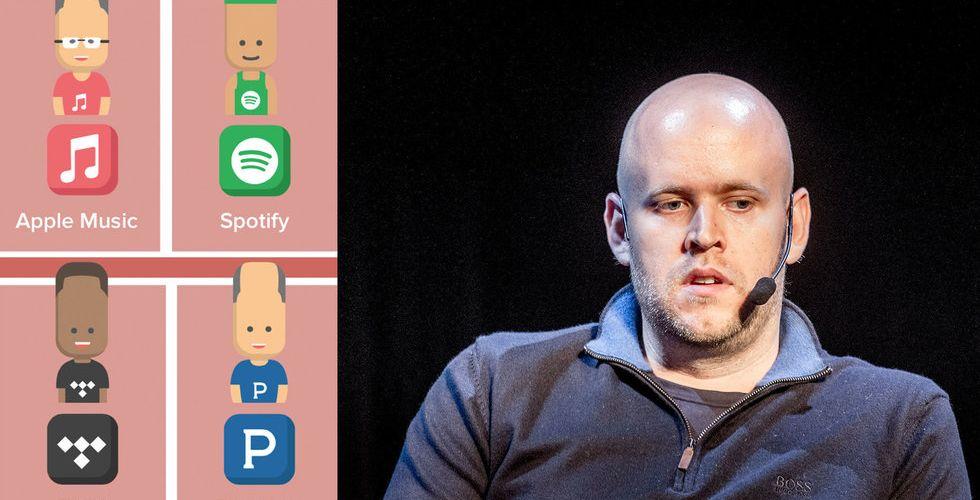 Breakit - Stort test av musiktjänsterna – är Spotify bättre än Apple Music?