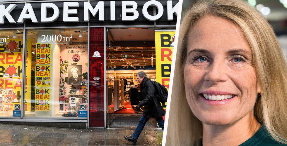 Maria Edsman ny vd på Akademibokhandeln och Bokus