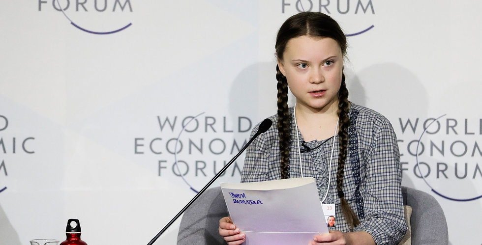 Time utser Greta Thunberg till årets person