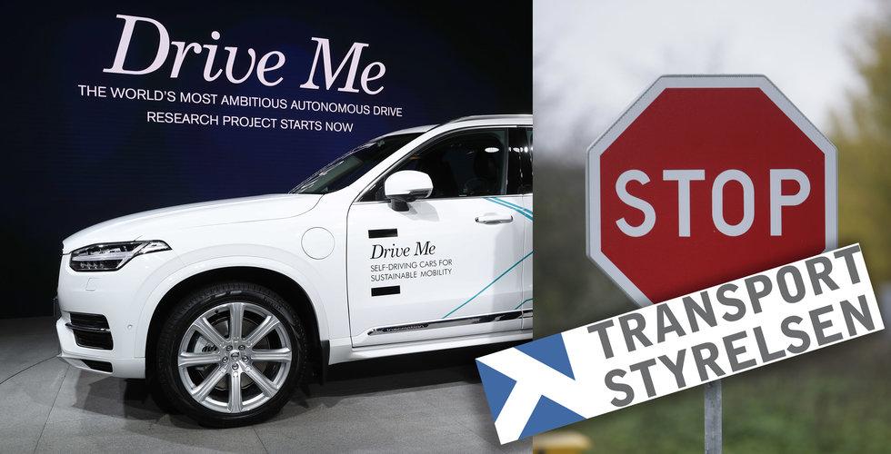 Breakit - Volvo saknar fortfarande tillstånd för tester med självkörande bilar