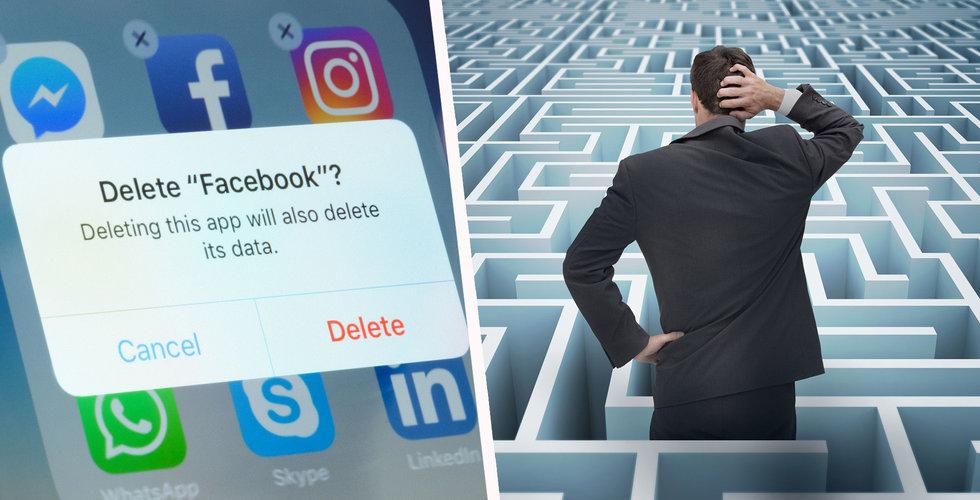 Guide: Så gör du för att radera ditt Facebook-konto – eller bara skydda din information