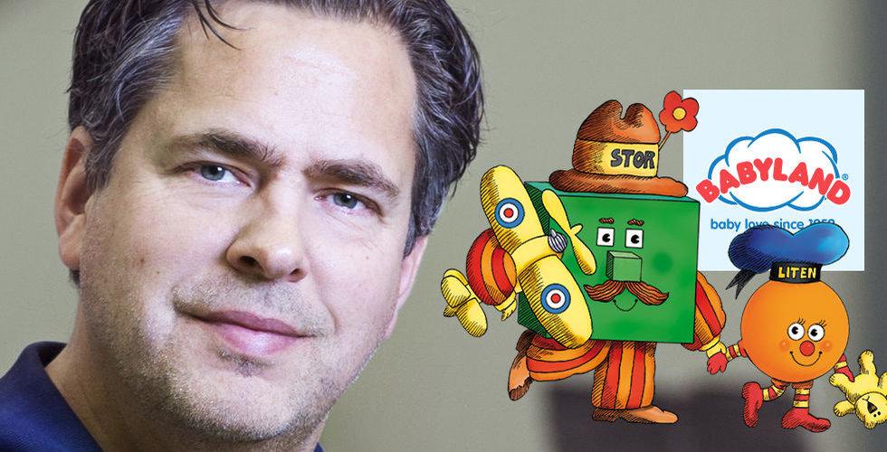 """Pär Svärdson slår till på Stor&Liten: """"Lycka från barndomen"""""""