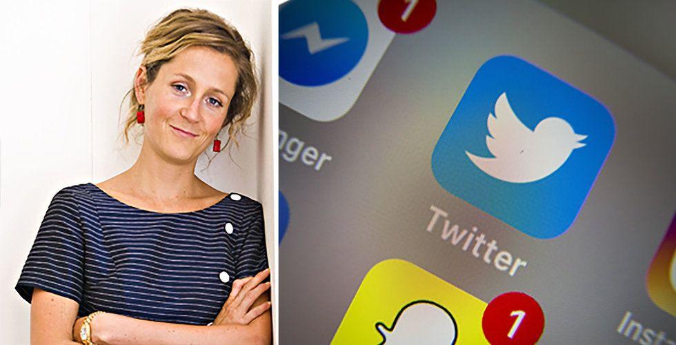 Breakit - Köpte tiotusentals fejk-följare – medan hon satt i Twitters styrelse