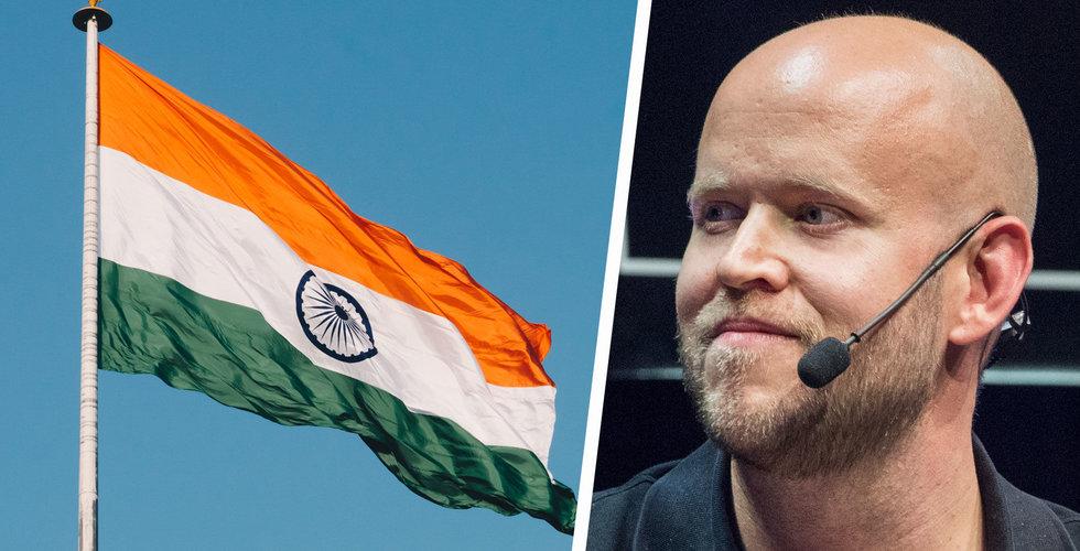 Trots bråket med Warner – Spotify smyglanseras i Indien