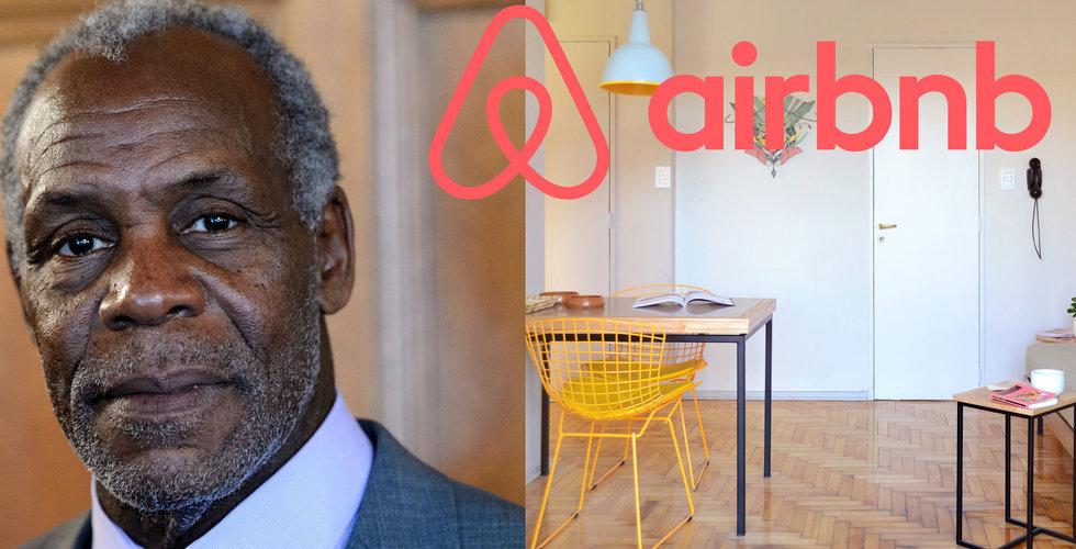 Skådespelaren Danny Glover blir rådgivare till Airbnb